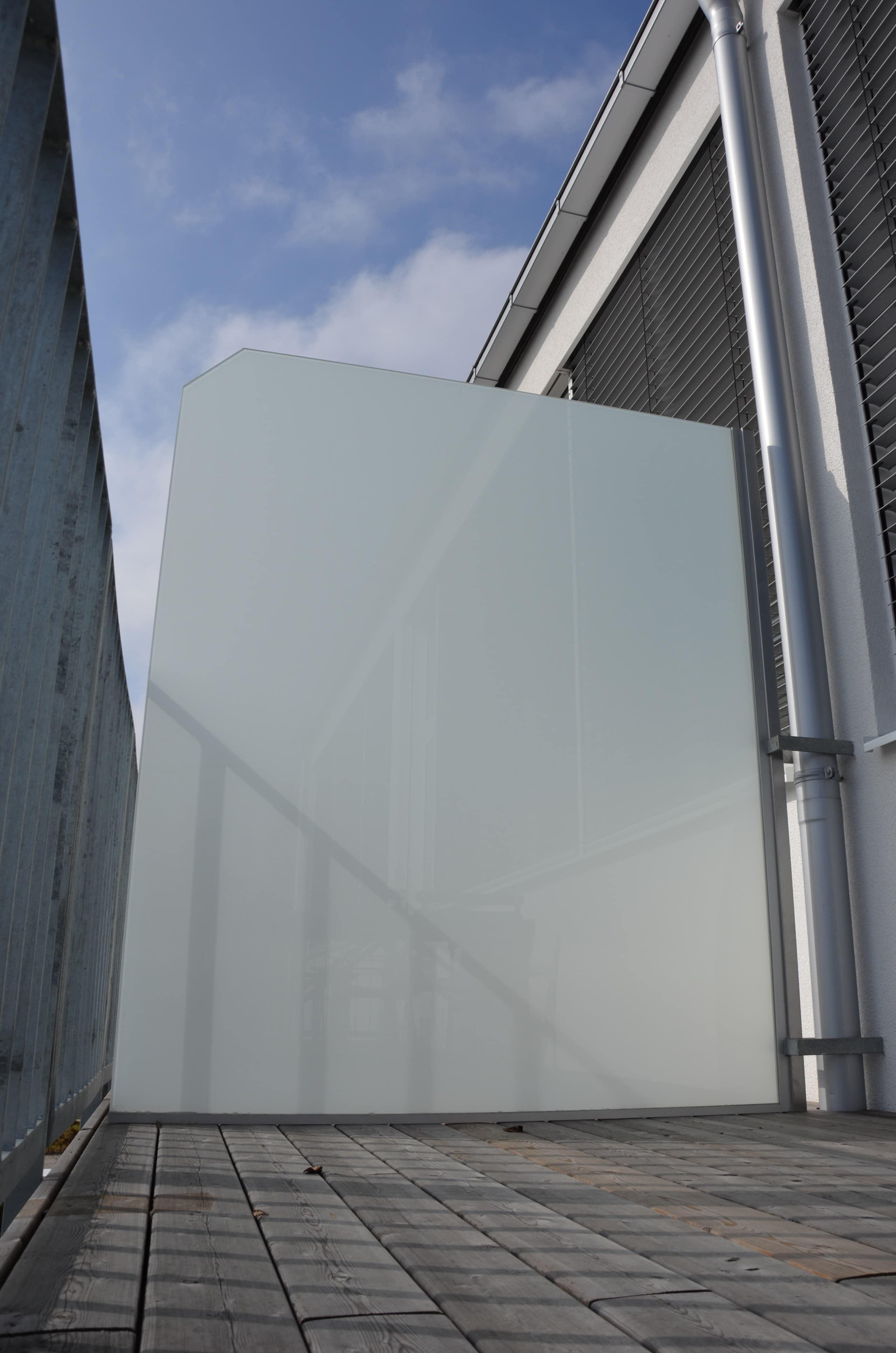 Sichtschutz Milchglas