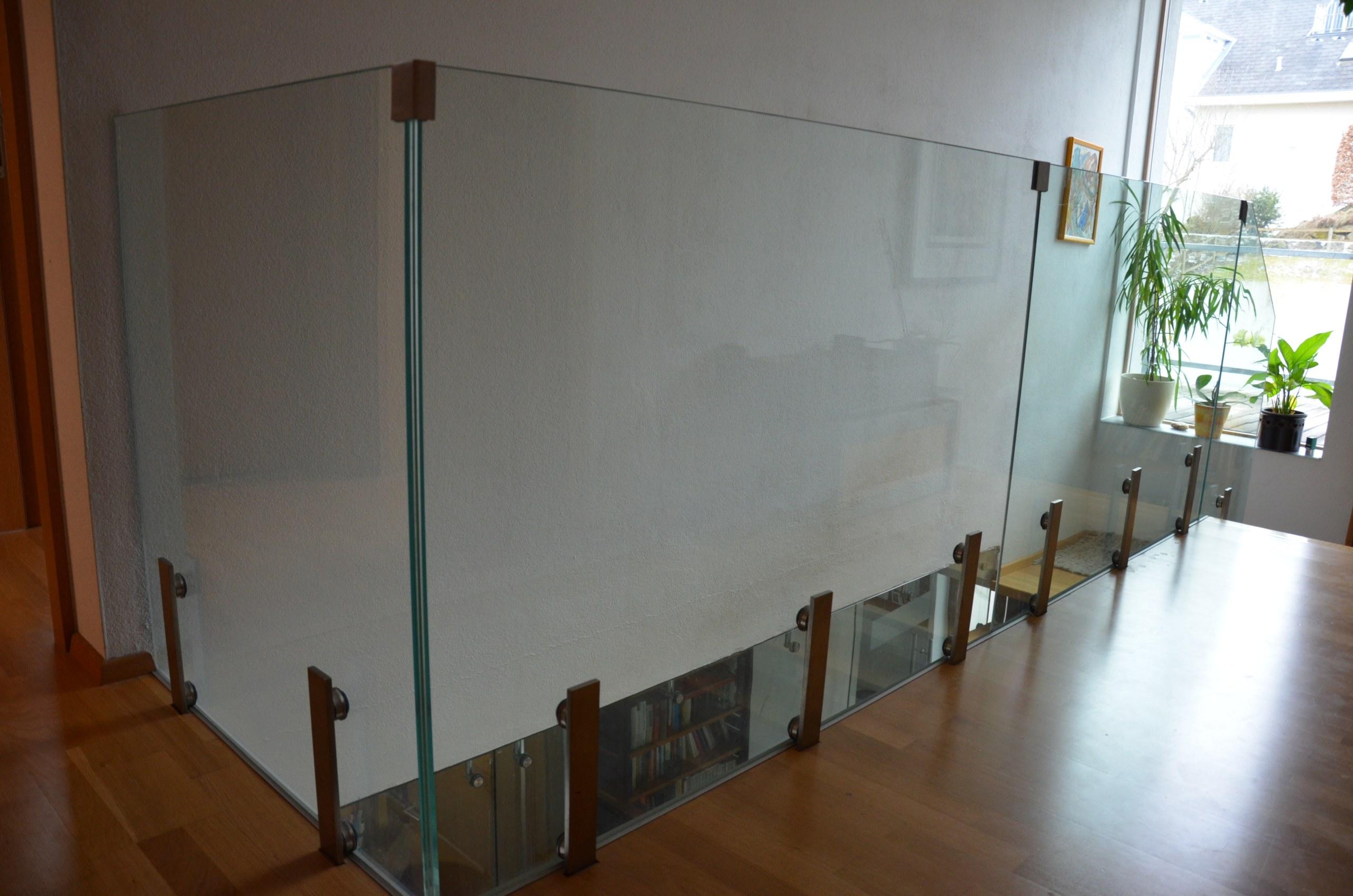 Glasgeländer